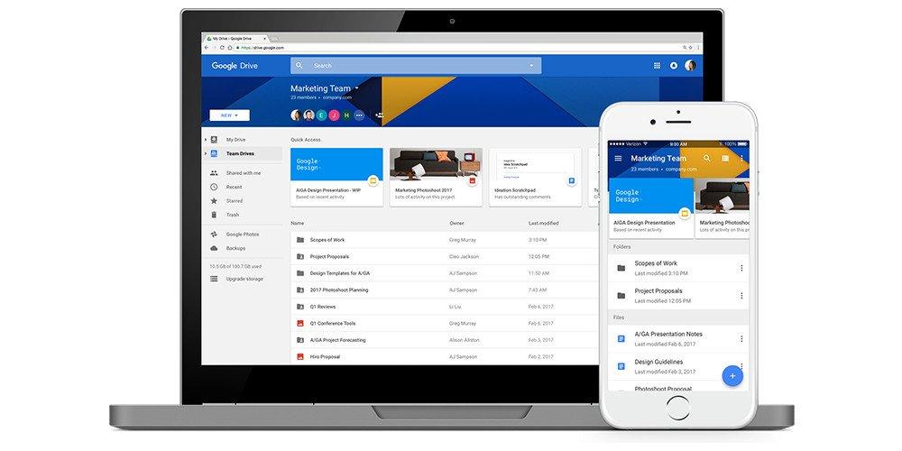 Google Drive cập nhật những tính năng mới hướng tới các doanh nghiệp nhiều hơn