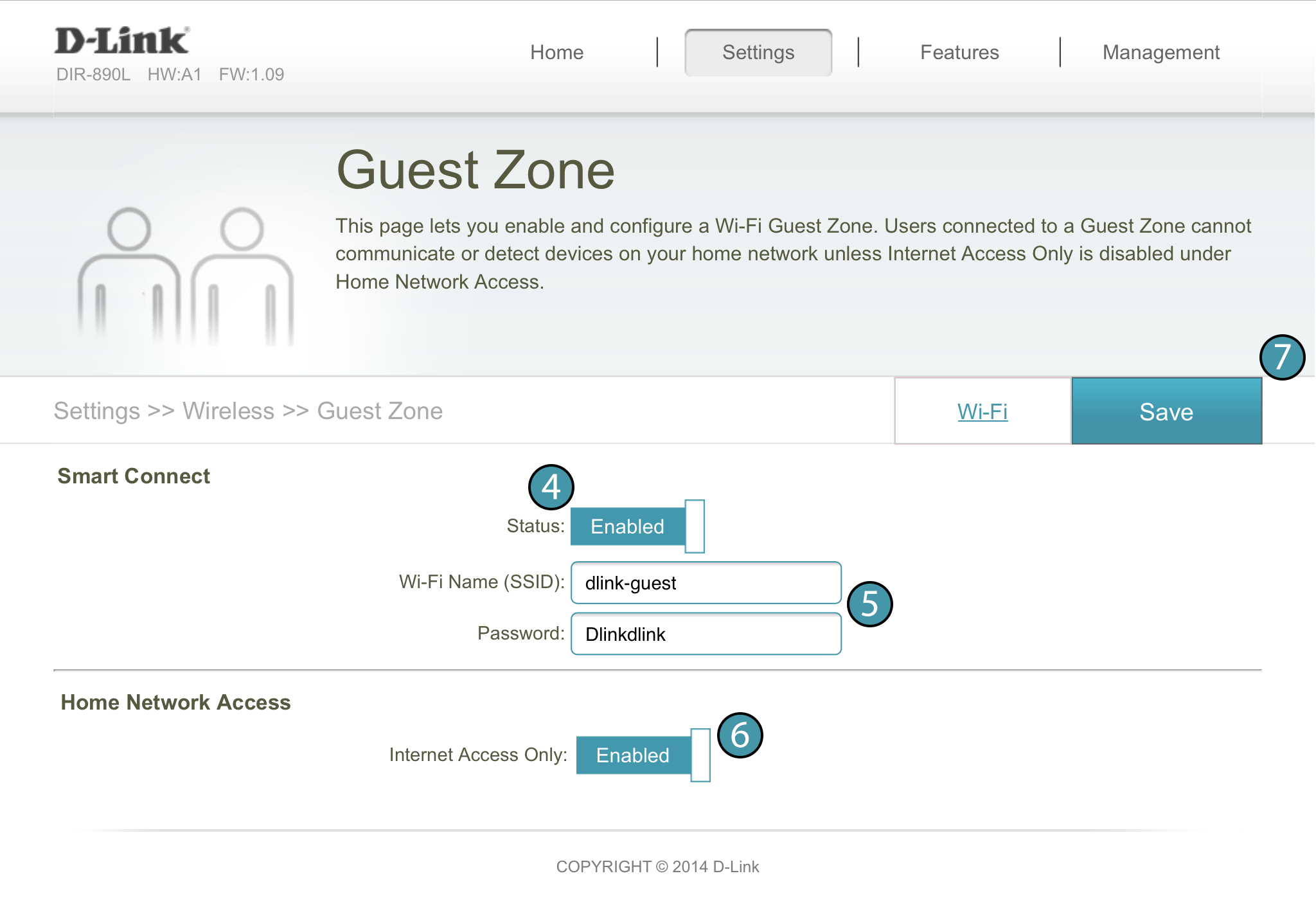 Thiết lập tính năng Guest Access trên router Linksys, D-Link, ASUS