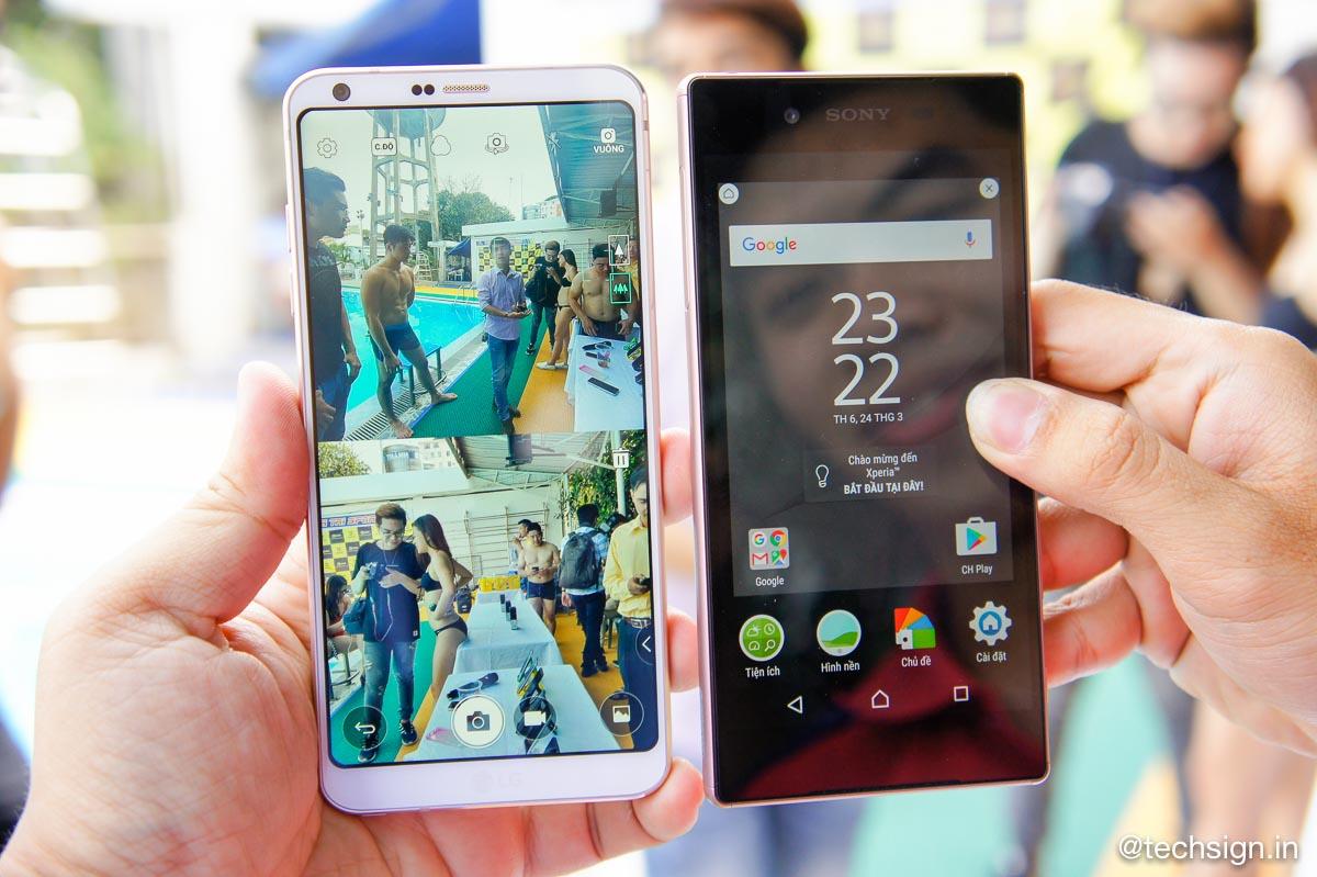 Huca.vn lần đầu tổ chức offline trải nghiệm LG G6