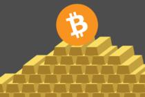 Lần đầu tiên 1 đồng Bitcoin có giá trị hơn cả 1 ounce vàng.
