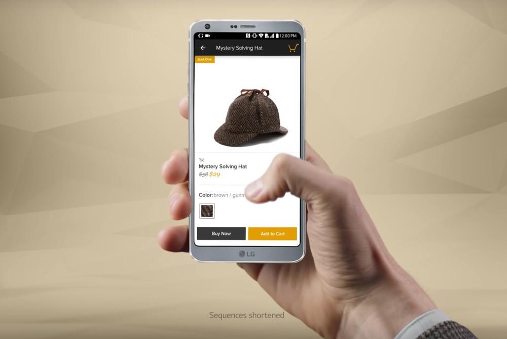 """""""Bóc tem"""" LG G6 trong video quảng cáo đầu tiên trước thềm sự kiện ra mắt lớn của Samsung"""