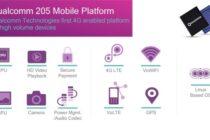 Qualcomm 205 ra mắt, nhằm mang 4G lên các điện thoại giá rẻ