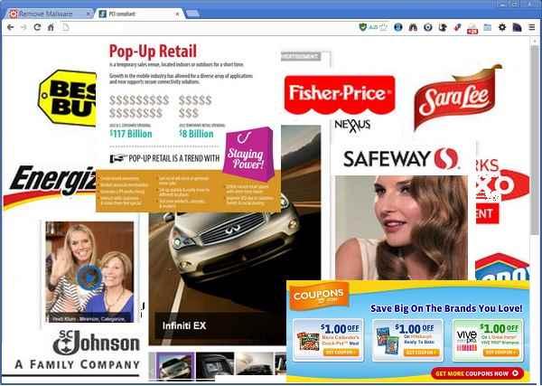 Nếu quảng cáo đồi truỵ xuất hiện trên mặt trang báo mạng, có thể do máy bạn đã dính mã độc
