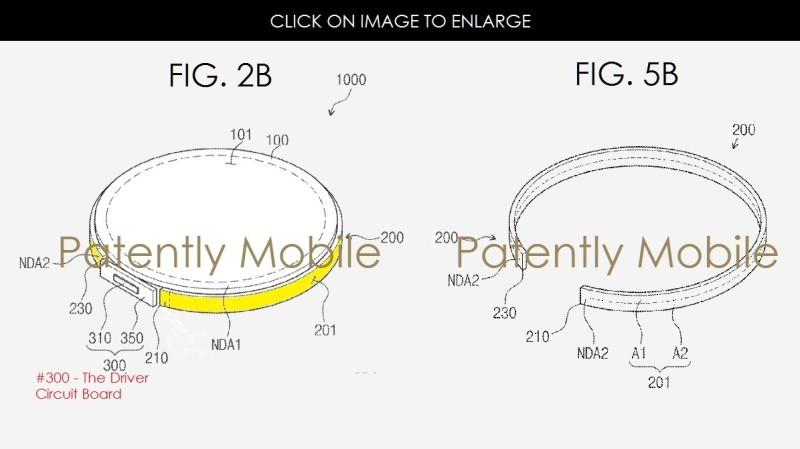 Samsung được cấp bằng sáng chế màn hình phụ thứ 2 cho smartwatch