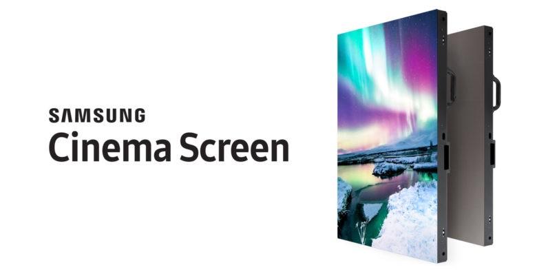 Samsung lần đầu giới thiệu màn hình dành cho rạp chiếu phim hỗ trợ HDR và 4K