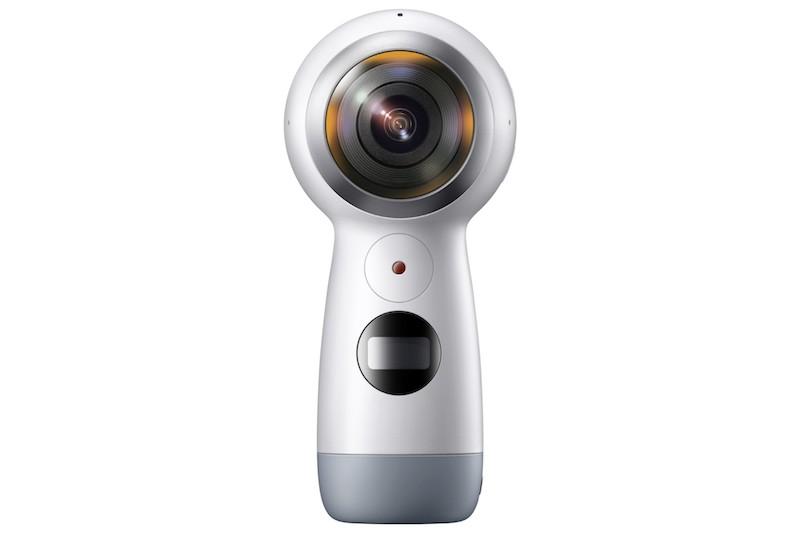 Samsung Gear 360 mới: quay 4K, phát trực tiếp video 360 lên Facebook