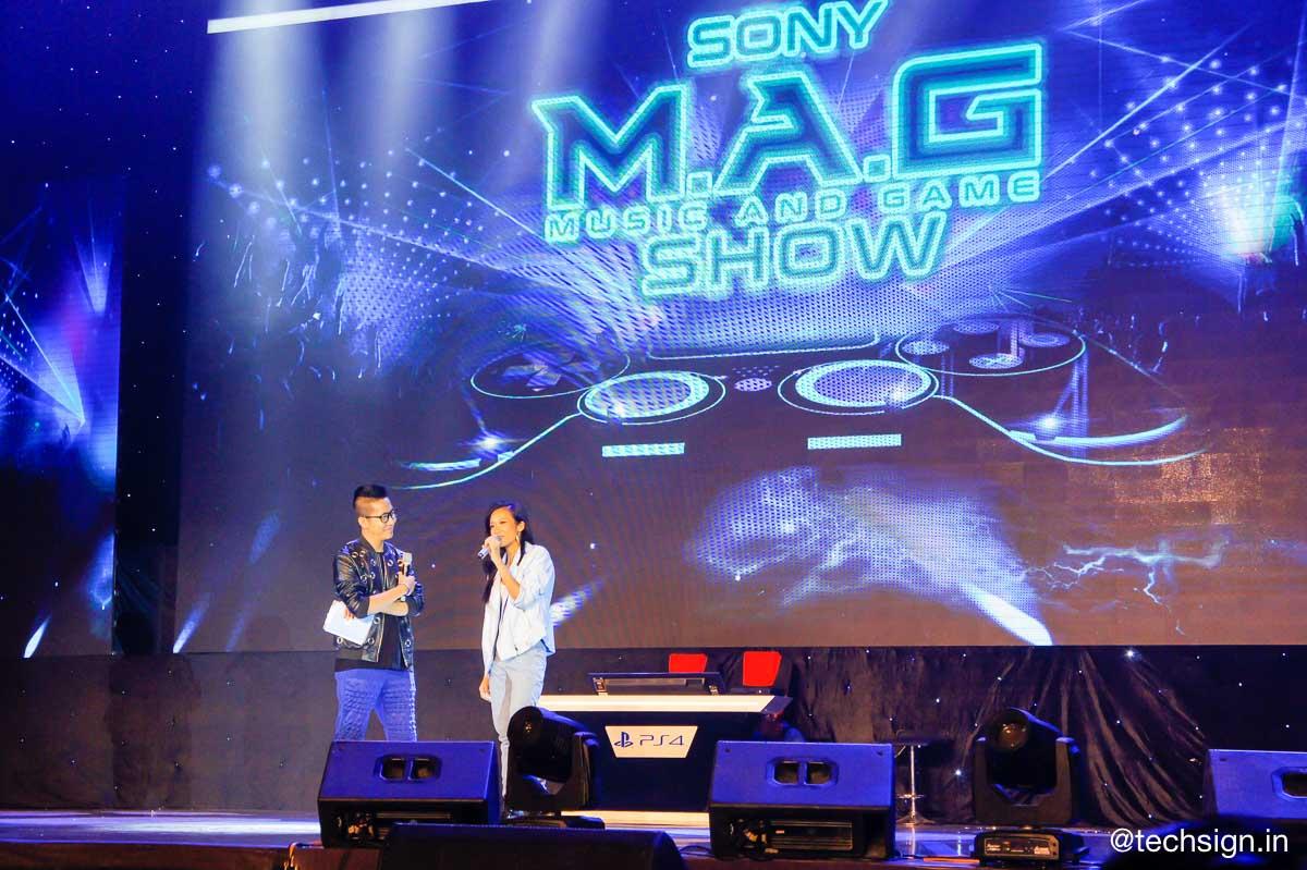 Sướng mắt đã tai tại Sony M.A.G Show