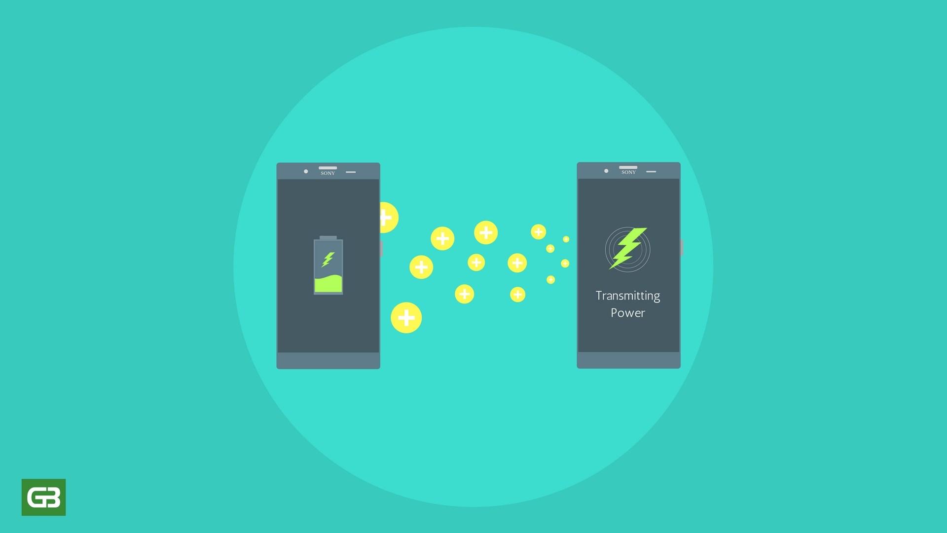 Sony được cấp bằng sáng chế sạc không dây giữa hai smartphone