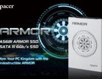 Apacer giới thiệu SSD AS681 ARMOR cho tốc độ đọc ghi 545/520 MB/s
