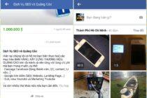 Nhiều người dùng Việt đã có thể thử tính năng Facebook Marketplace