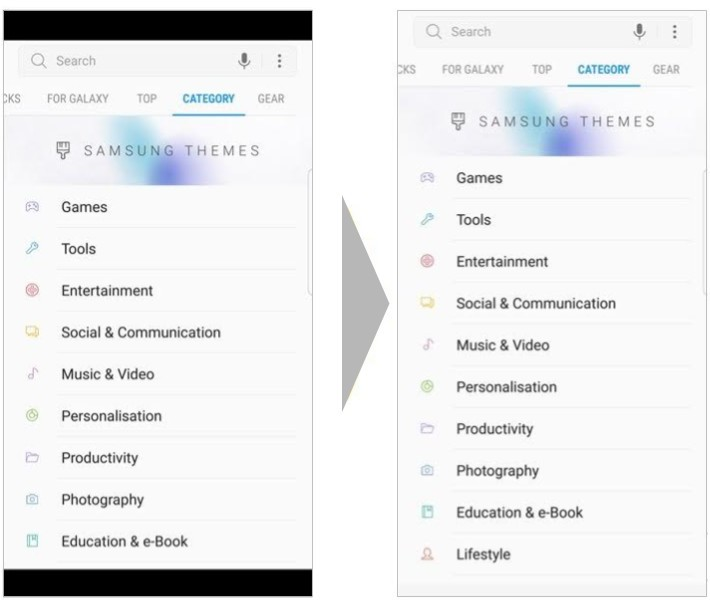 Ứng dụng Android giờ đây đã có tỉ lệ định dạng mới cho thế hệ smartphone mới ra mắt