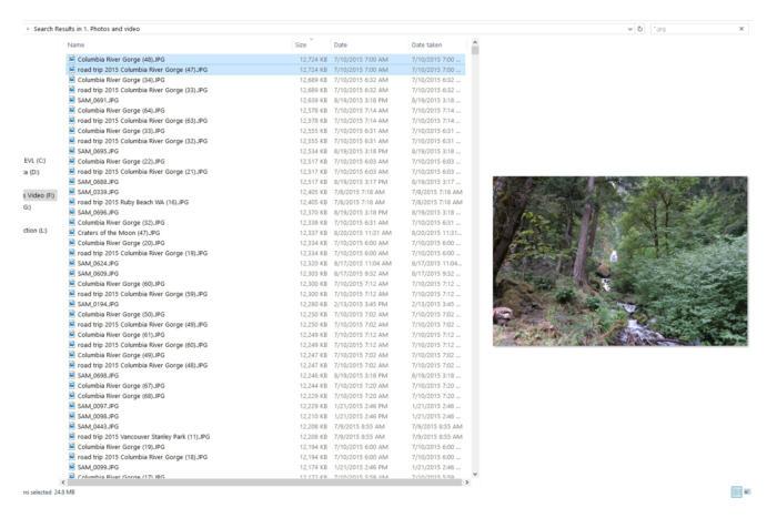 Những cách đơn giản để tìm kiếm các tập tin trùng lặp bằng Windows Explorer
