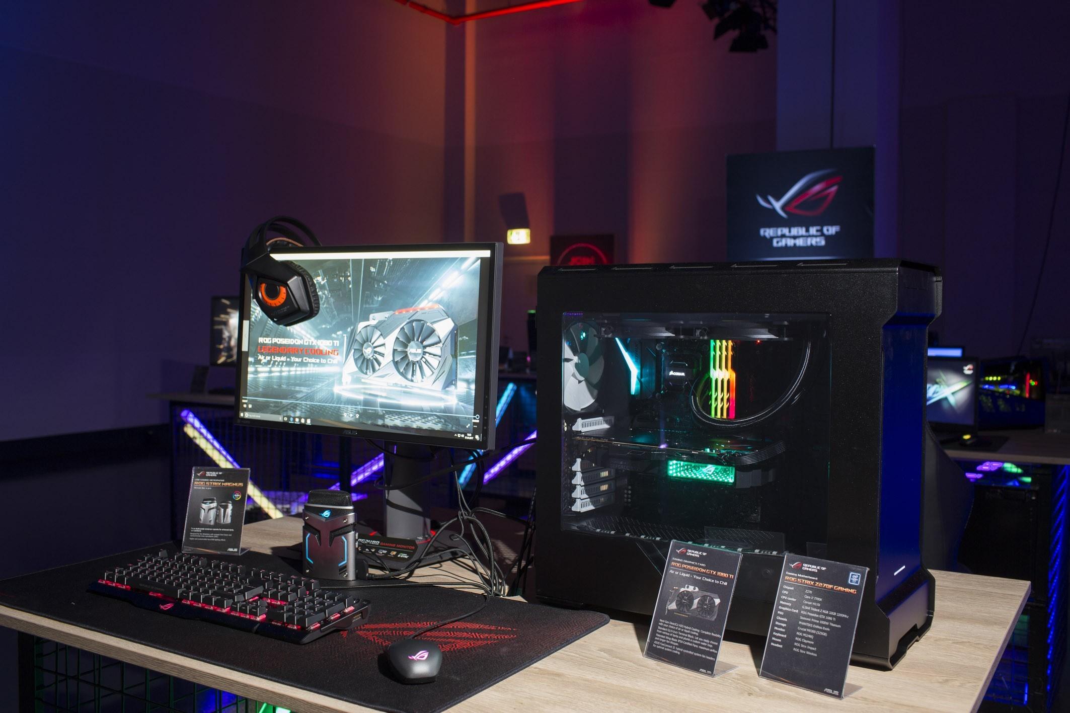 ASUS ROG công bố loạt sản phẩm mới trong sự kiện tại Đức