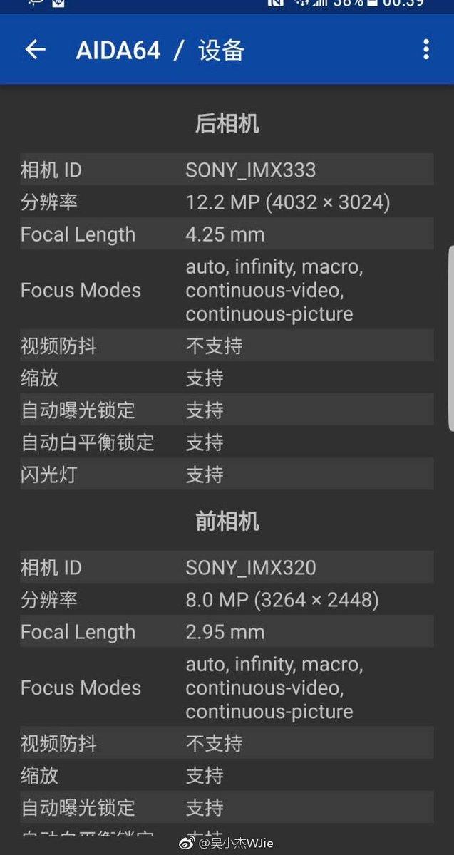 Samsung Galaxy S8 sử dụng 4 loại cảm biến ảnh khác nhau cho camera trước và sau