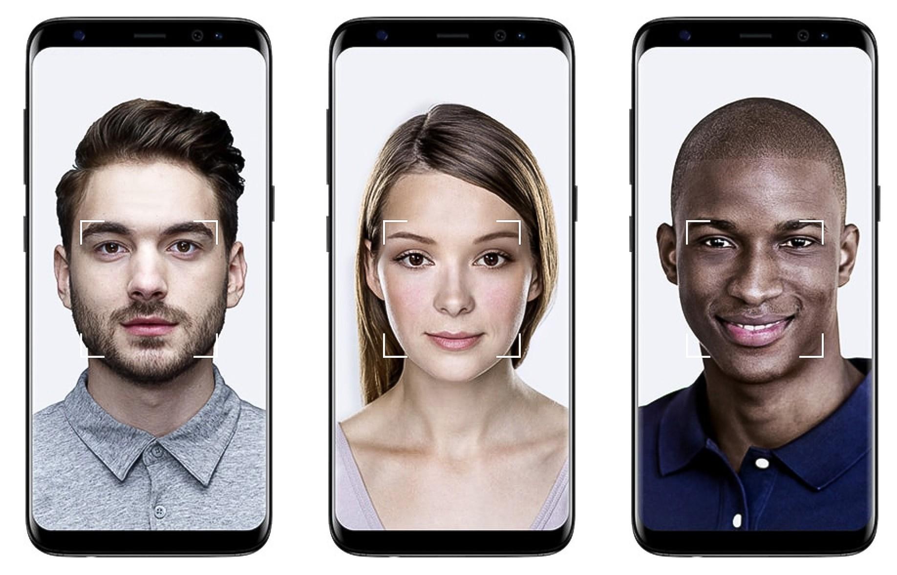 Tính năng nhận diện khuôn mặt trên Galaxy S8