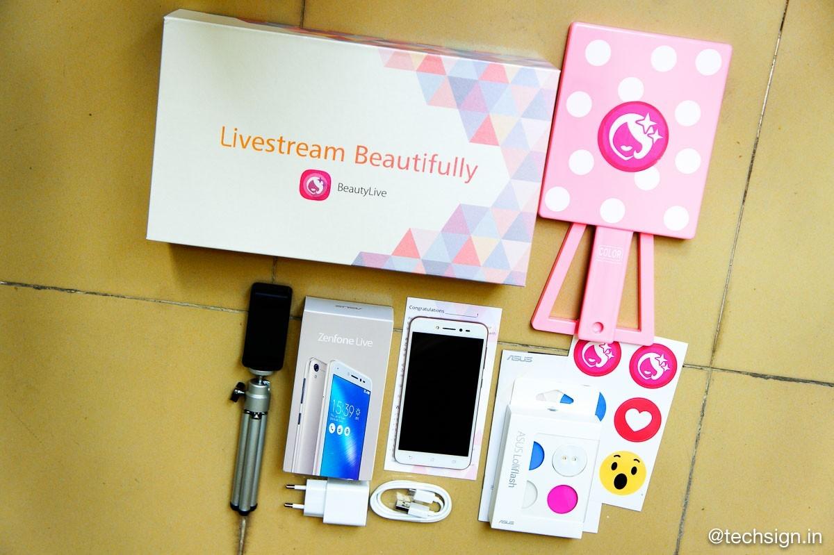 ASUS chính thức tung ZenFone Live với chức năng chuyên livestream