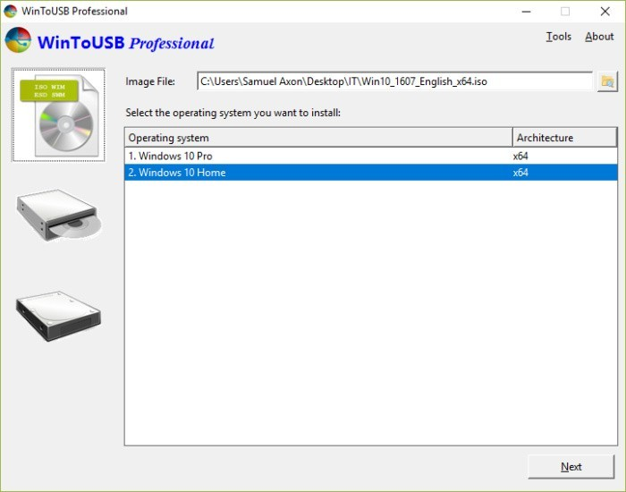 Hướng dẫn chạy trực tiếp Windows từ ổ cứng di động