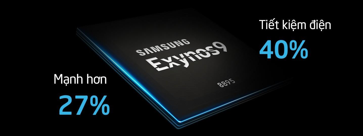 Chip Exynos 8895 trên Galaxy S8 bán ở Việt Nam có gì đặc biệt?