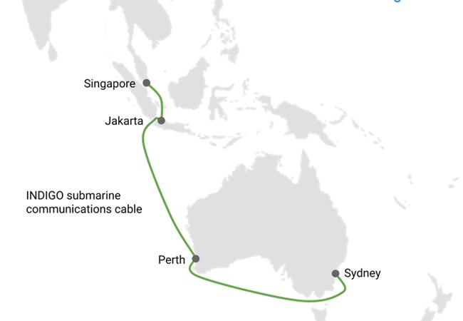 Google đầu tư lớn vào 5 tuyến cáp quang biển ở Đông Nam Á