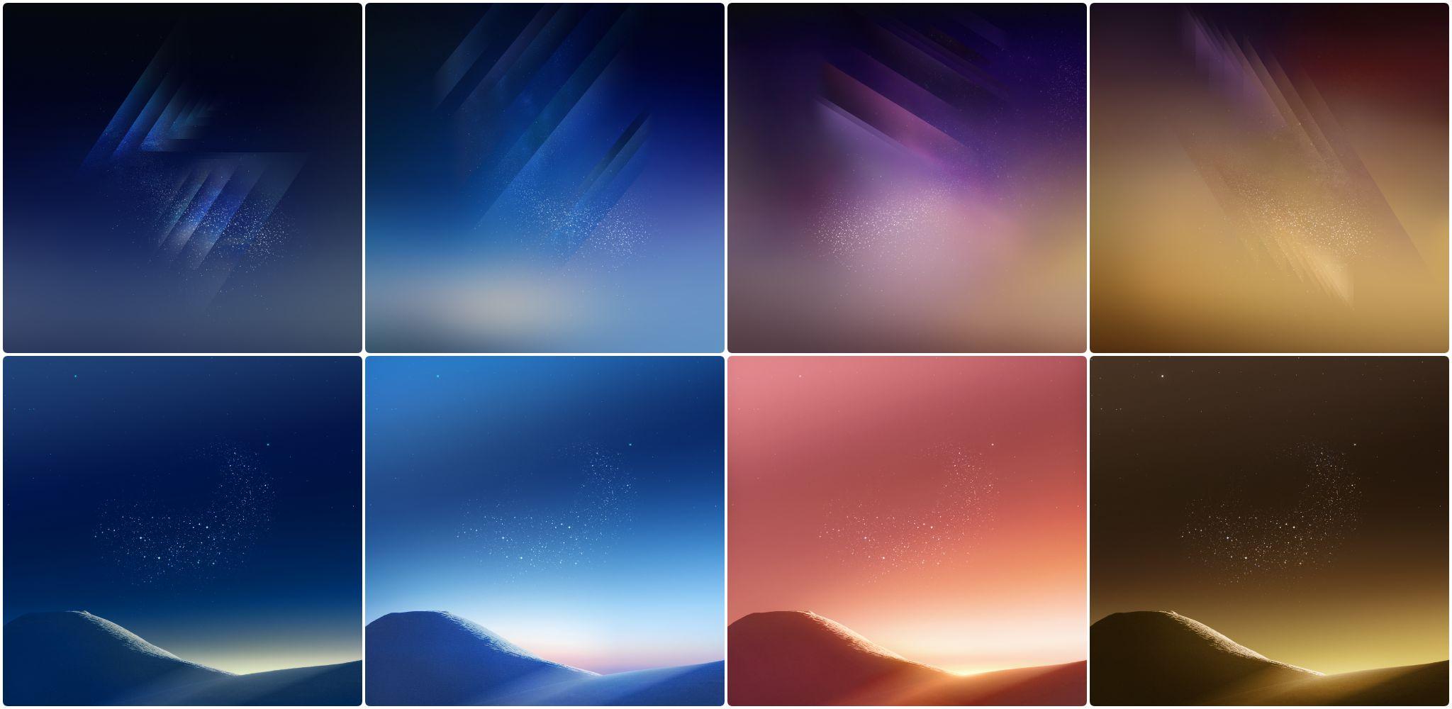Hình nền Galaxy S8