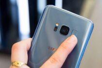 Cảm biến vân tay trên Samsung Galaxy S8