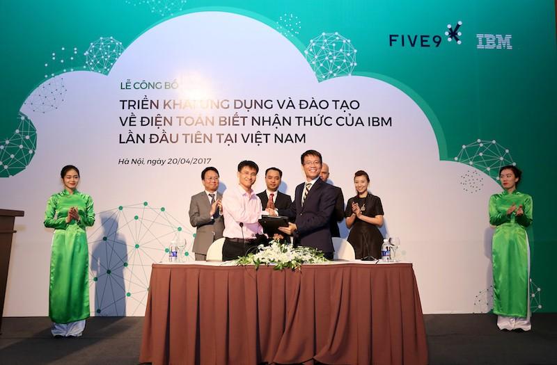 IBM và Five9 hợp tác ứng dụng đào tạo điện toán biết nhận thức
