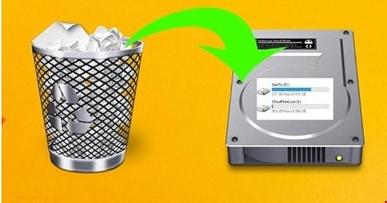 Khôi phục dữ liệu đã xóa trên ổ cứng và USB