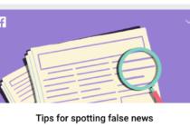 Facebook đưa 10 hướng dẫn kiểm tra độ chính xác thông tin trên Feed