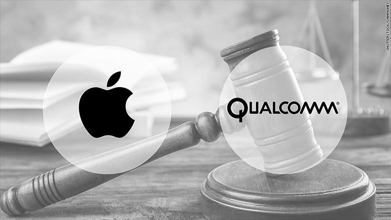Qualcomm kiện Apple cố tình không tận dụng tối đa hiệu suất chip LTE của mình trên iPhone 7