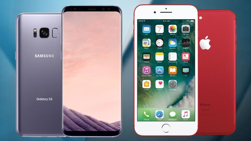 Samsung Galaxy S8 và iPhone 7 ai hơn ai?