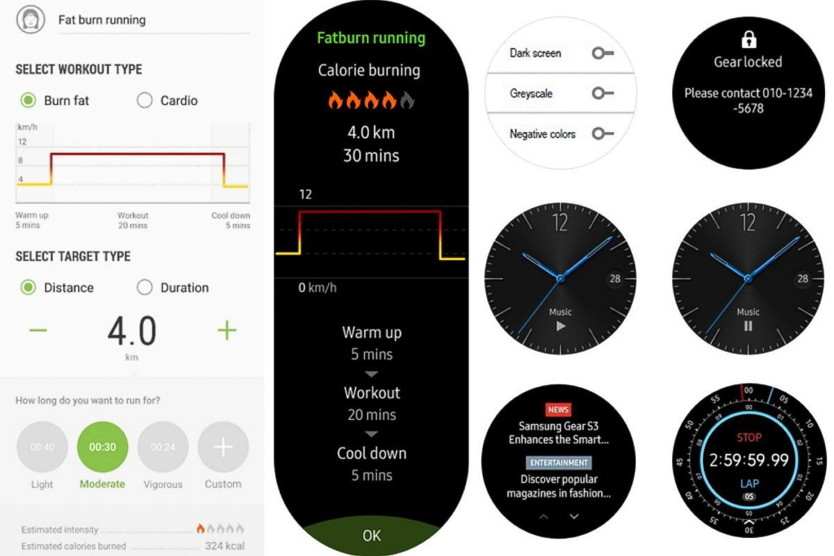 Samsung Gear S3 cập nhật firmware mới, giúp cải thiện khả năng theo dõi sức khoẻ