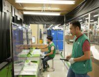 Ảnh tham quan nhà máy Samsung SEHC tại Quận 9, TP.HCM