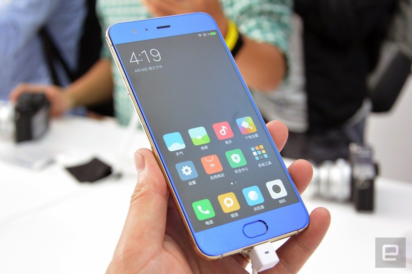 Ảnh cận cảnh Xiaomi Mi 6