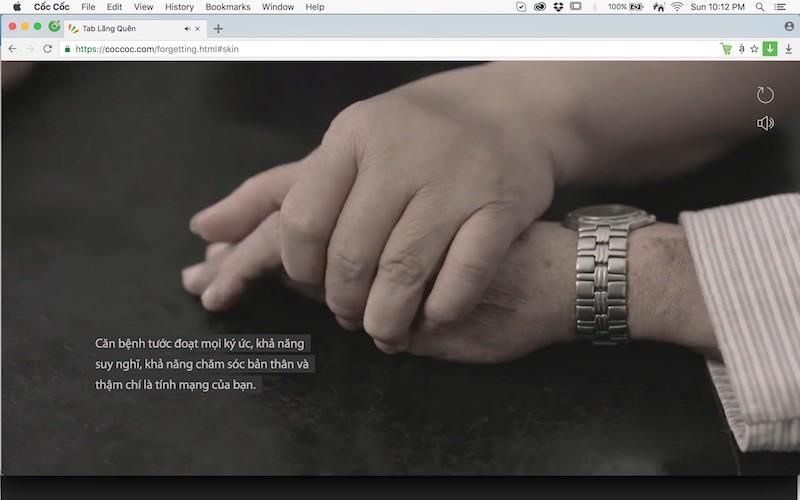 Cốc Cốc cùng Isobar Việt Nam giới thiệu dự án cao nhận thức vềbệnh Alzheimer's.