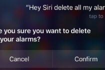 Tắt tất cả báo thức trên iPhone chỉ bằng một lệnh