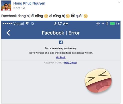 Facebook sập mạng trên toàn cầu khiến cộng đồng hoang mang