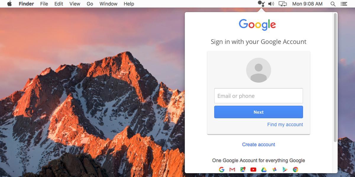 Cách dùng Google Assistant trên MacOS