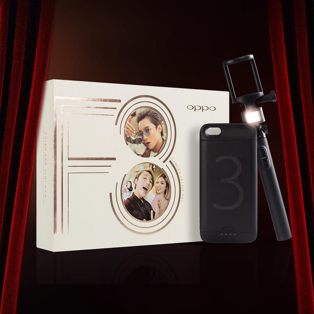 Người dùng đặt mua Oppo F3 được tặng 500.000 tiền cọc