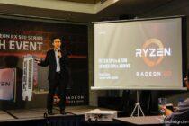 AMD ra mắt CPU Ryzen và card Radeon RX500 Series