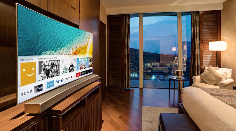 Samsung tạo cơ hội cho người dùng tận hưởng giải trí TV QLED mới