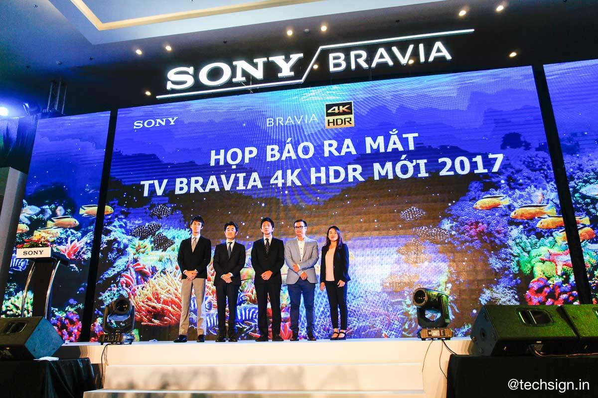 Sony chính thức giới thiệu TV 4K HDR mới