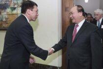 CTO Uber Thuận Phạm gặp gỡ Thủ tướng chính phủ Việt Nam