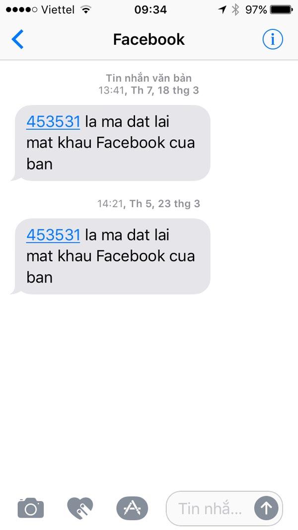 Những việc cần làm khi Facebook bỗng nhiên gửi mã xác nhận