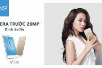 Vivo V5s chính thức ra mắt giá 7 triệu: camera selfie 20MP với hiệu ứng ánh trăng