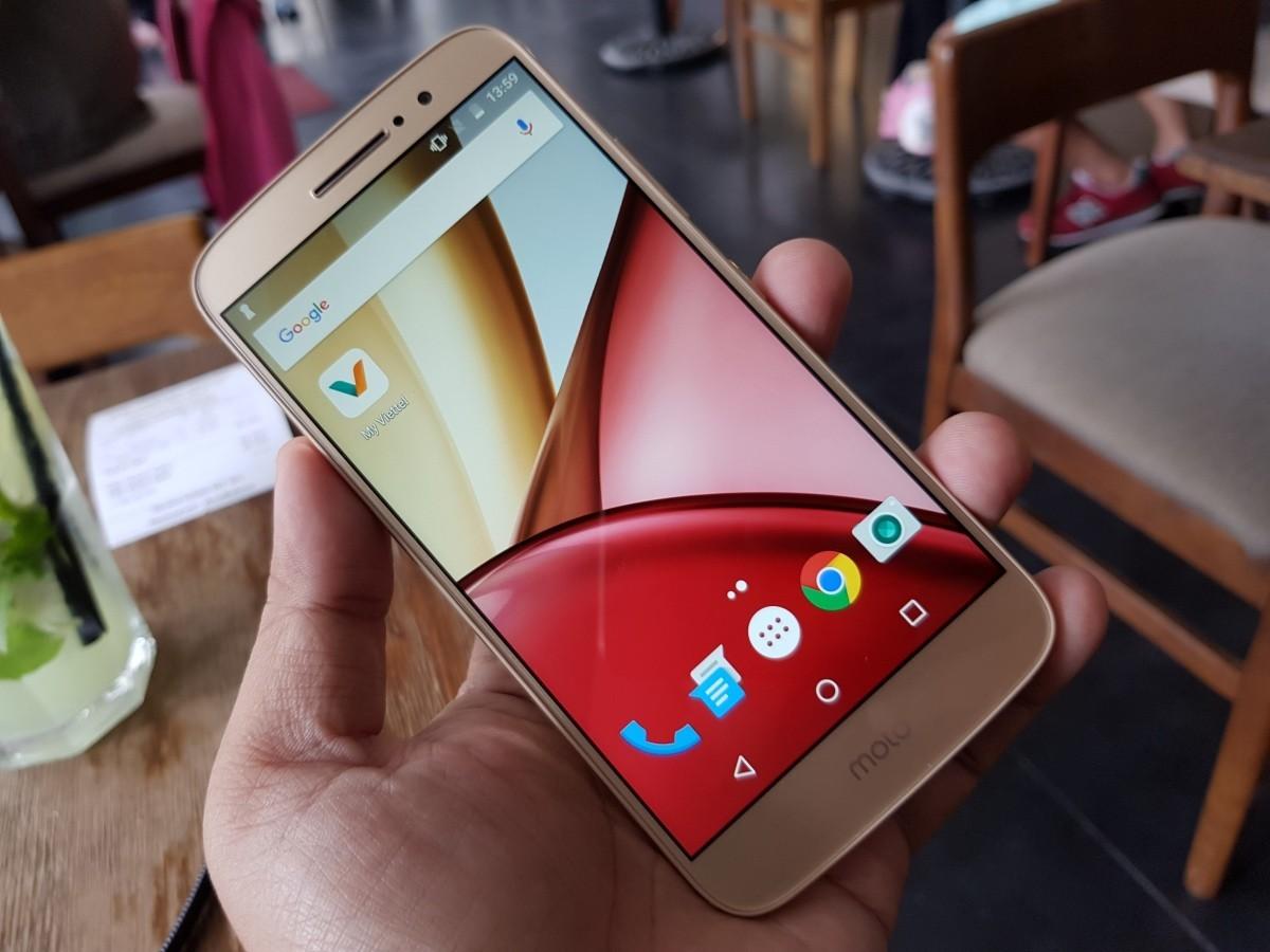 Ảnh thực tế smartphone tầm trung Moto M