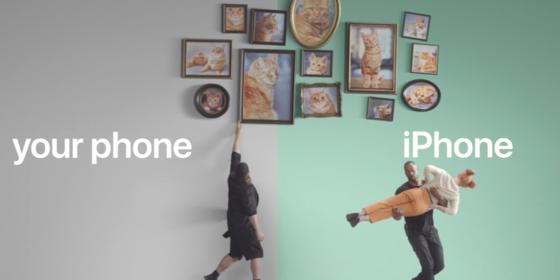 Apple tung chiến dịch lôi kéo người dùng Android