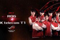 ASUS ROG hợp tác với Đương kim vô địch LMHT thế giới SK telecom T1