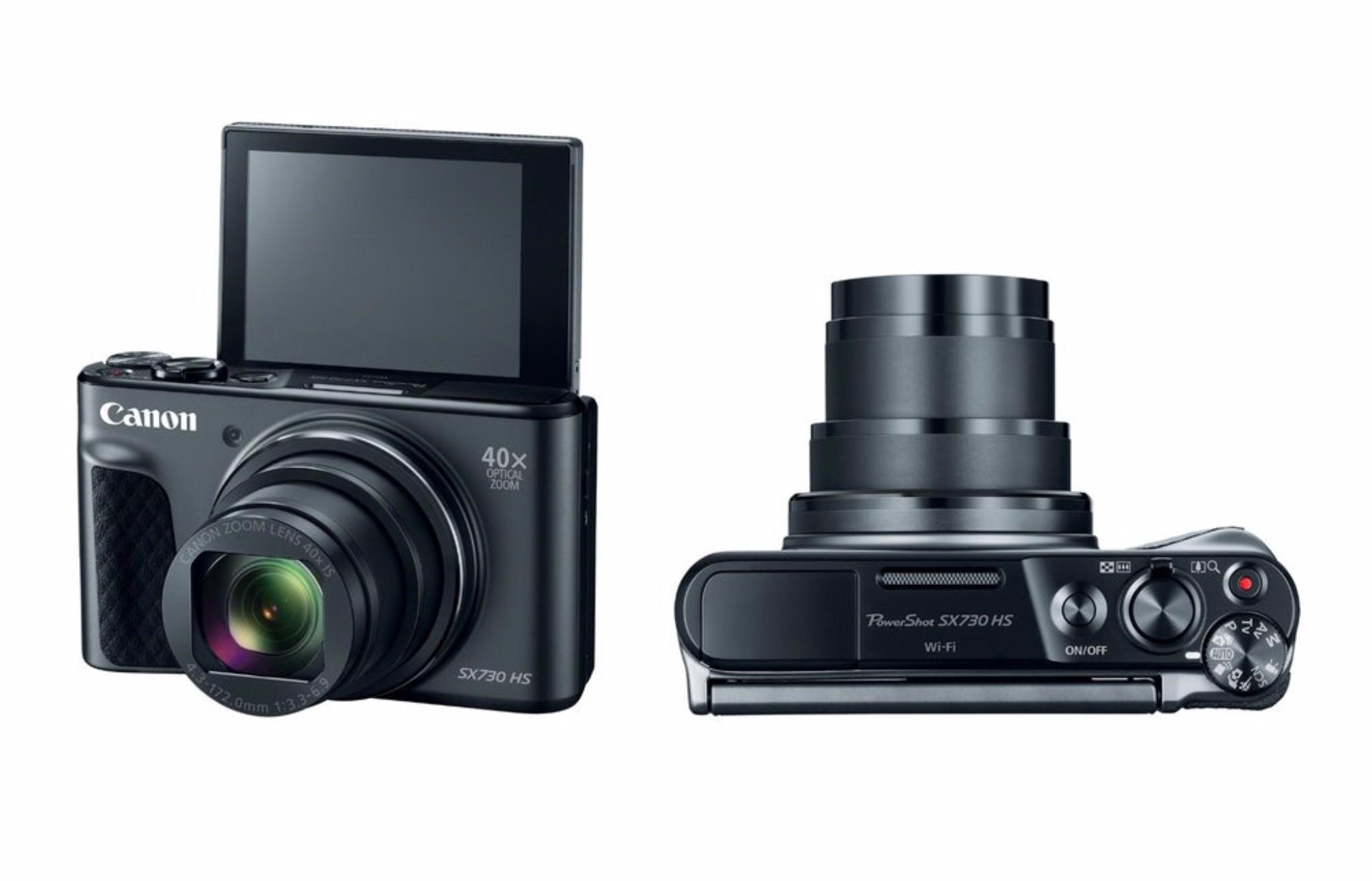 Canon PowerShot SX730 HS ra mắt, tích hợp siêu zoom và chụp selfie tốt