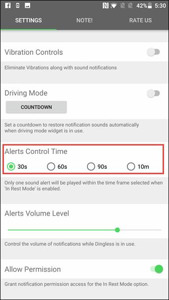 Dingless: ứng dụng hẹn giờ thông báo, tránh gián đoạn công việc của bạn