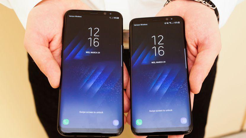 Samsung Galaxy S8 và S8 Plus mở bán gấp 3 lần S7/S7 Edge